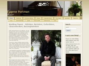 www.eugeneportman.co.uk - website of jazz pianist Eugene Portman. The music on this site is more 'middle of the road' and less jazz influenced than www.eugeneportman.com