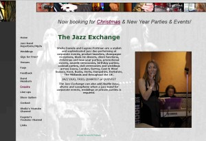 The Jazz Exchange - Sheila Daniels and Eugene Portman are a stylish and sophisticated jazz duo performing at corporate events, product launches, champagne receptions, black tie dinners etc..