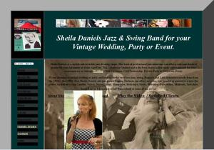 Sheila Daniels - The site of the wonderful jazz and swing singer Sheila Daniels